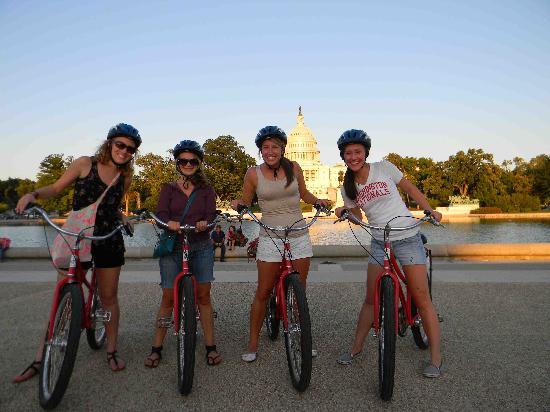 Capital City Bike Tours: The US Capitol Building