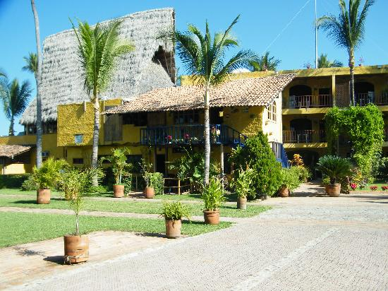 Las Cabanas del Capitan: les bungalow et le parking