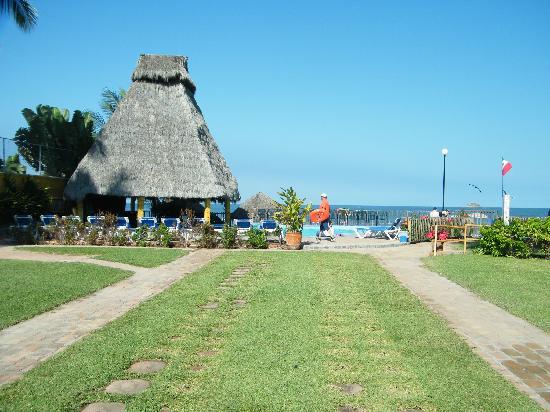Las Cabanas del Capitan: la piscine et la plage