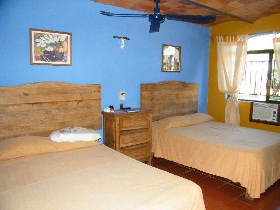 Las Cabanas del Capitan: les chambres
