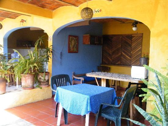Las Cabanas del Capitan: la terrasse du bungalow