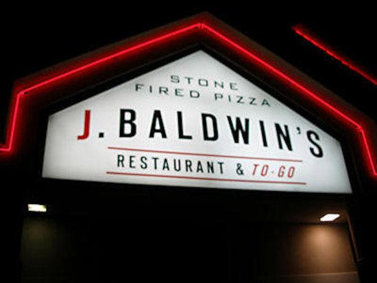J. Baldwin's Restaurant: Welcoming Sign