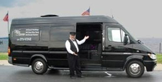 Guided Luxury Wine Tours: The Limo Coach - seats 12