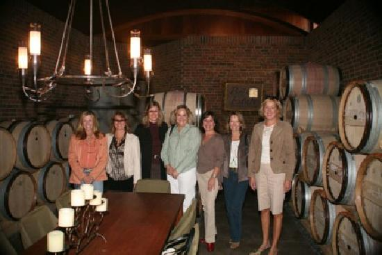 Guided Luxury Wine Tours: Barrel room