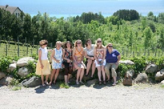 Guided Luxury Wine Tours: At the vineyard