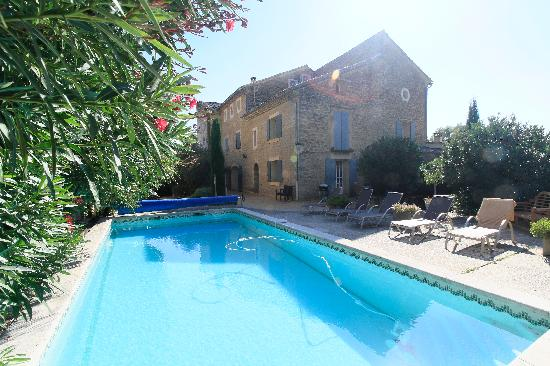 Le Moulin Vieux : The swimming pool