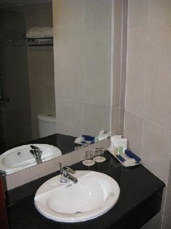 Dalat Plaza Hotel: Our bathroom