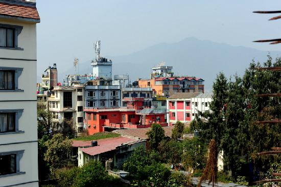 Hotel Thamel : A view from the Thamel Hotel