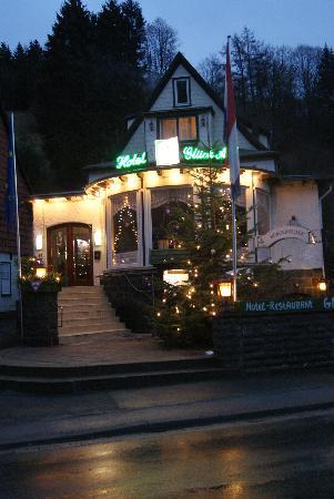 Hotel Glück Auf: echte kerst