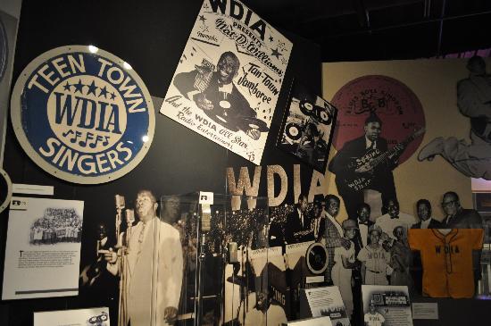 Memphis Rock 'n' Soul Museum: salle du musée