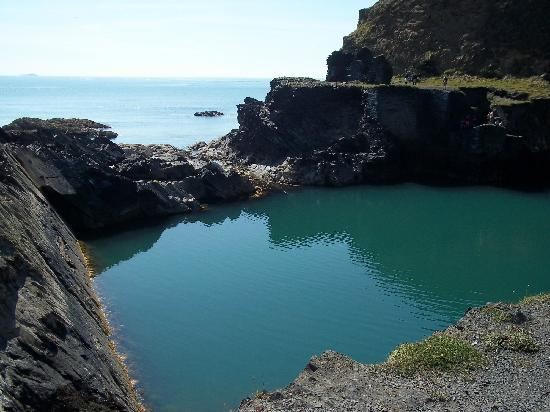 Blue Lagoon Pool Picture Of Abereiddy Pembrokeshire