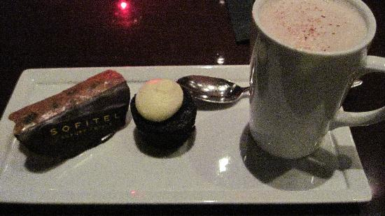 Sofitel Washington DC: Chocolate special. Yummmm