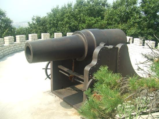 Далянь, Китай: 大砲