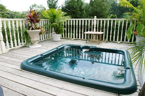 Elk Forge B&B Inn, Retreat and Day Spa: Hot Tub