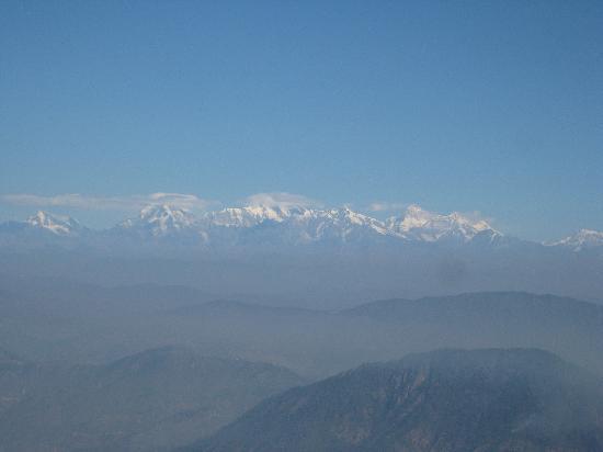 The Naini Retreat: Himalaya a beautiful view