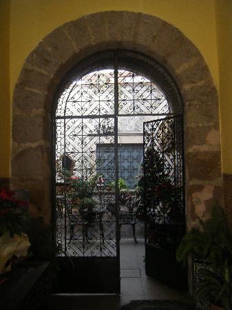 Hotel Zapata 91: Ingreso principal