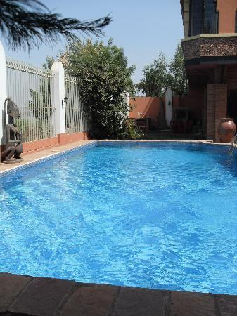 Villa Soudan: la piscine