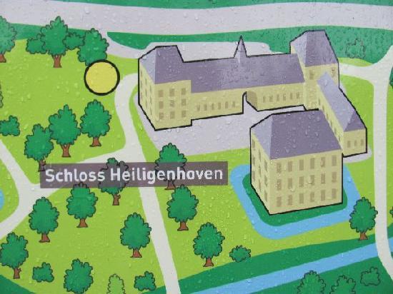 Schloss Heiligenhoven: info tablet