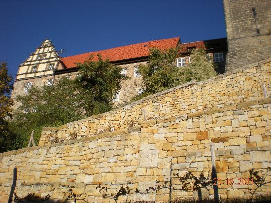 Quedlinburg, Niemcy: Burgberg (castle/abbey/church complex) on the hill