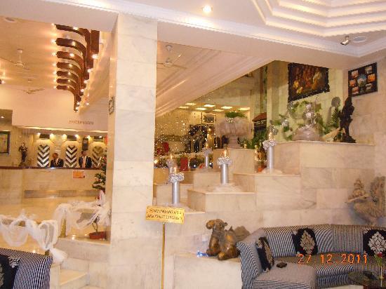 Hotel Hillock: Lobby & Reception