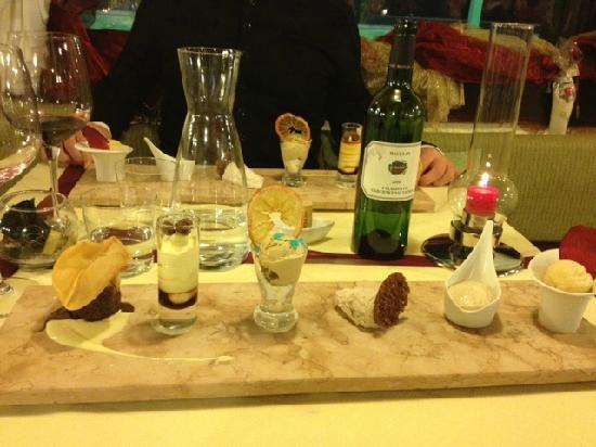 Ristorante da Riccardo Al Maddarello : Gran Degustazione di sei dessert