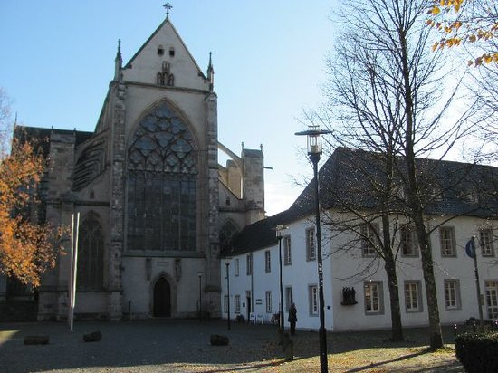 Odenthal, Germany: part of the abbey and church