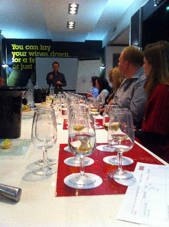 West London Wine School - Day Classes: Wine tasting in action
