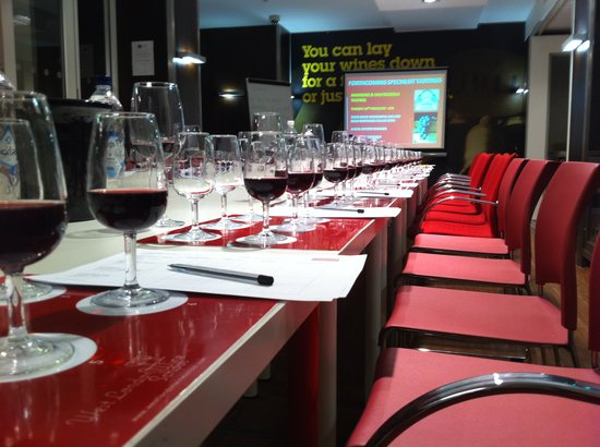 West London Wine School - Day Classes: The venue, The Wine Cellars