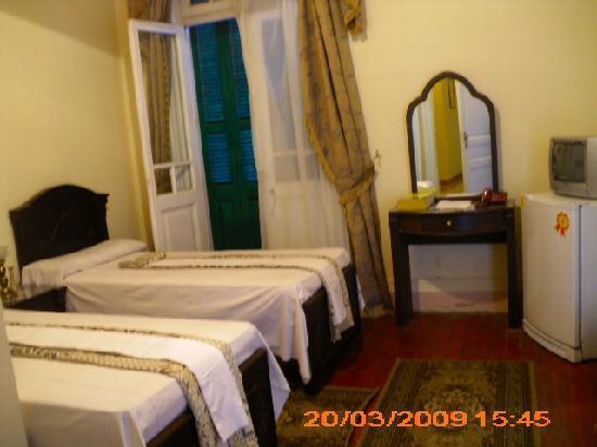 Egypt Hotel: الغرفه الخارجي للجناح