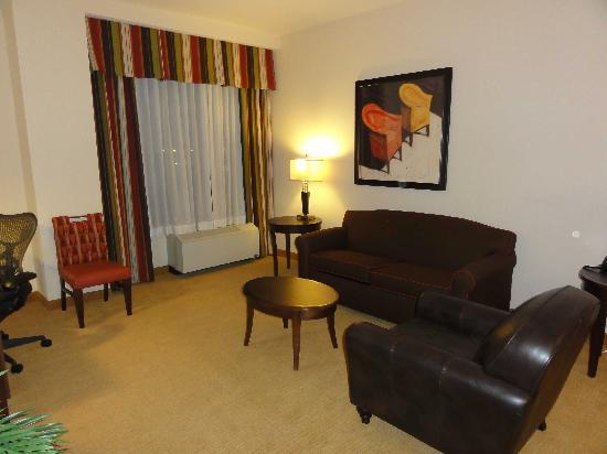 Hilton Garden Inn Phoenix Airport North: スイートの部屋