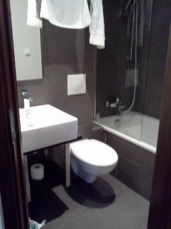 อาร์ต โฮเต็ล บาติยอล: Badet/ toalettet.
