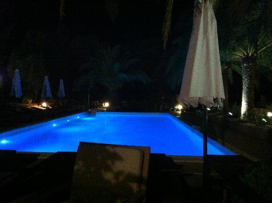 Hotel Eden Park : Der Pool bei Nacht