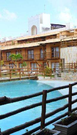 Praia Bonita Resort & Convention: visual dos quartos e Piscina