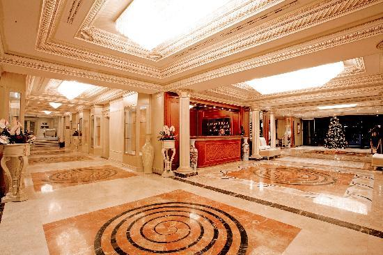Swiss Diamond Hotel Prishtina: Loby