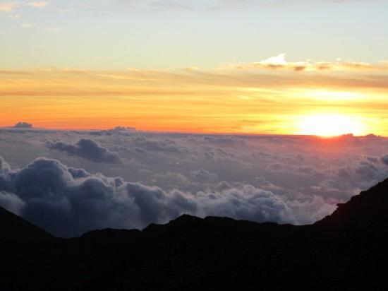 Sunrise on Haleakala Crater
