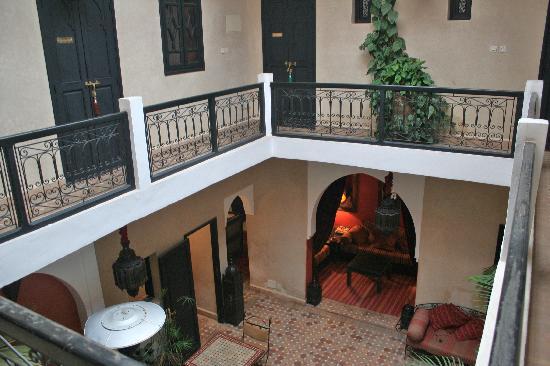 Dar Loula: View of courtyard