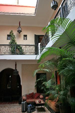 Dar Loula: Courtyard