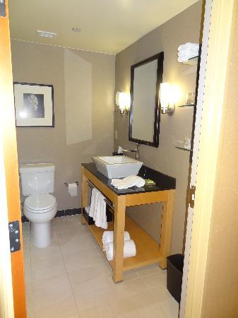 Cambria hotel & suites Raleigh-Durham Airport: Very nice bathrooms