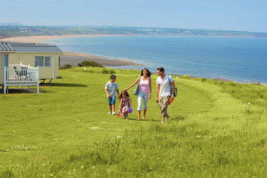 Reighton Sands Holiday Park - Haven: Sea view at Reighton Sands