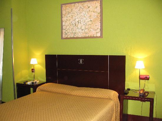 Hotel Carlos V: Mi habitacion de las mas económicas