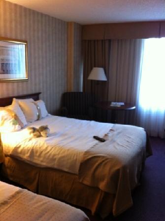 Holiday Inn Washington - Capitol: standard room on 3rd floor