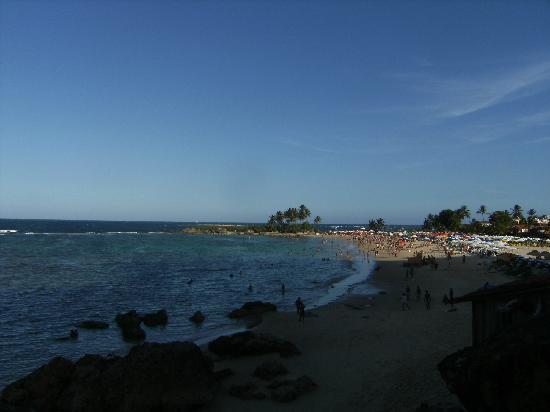 Segunda Praia Beach : 2a Praia am Tag