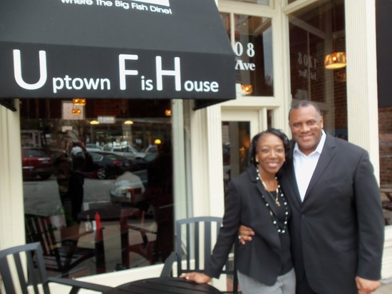 Uptown Fish House: Owners Michael & Sonya Eddings