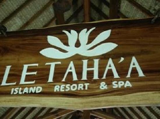 Tahaa, Polinesia Francesa: Made it to Le Taha'a all by myself