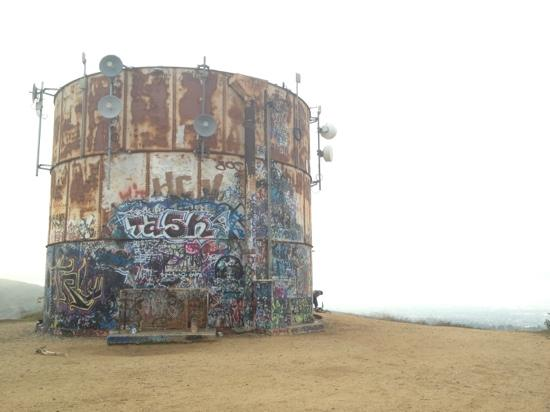 Whittier, CA: Water Tower at Turnball Canyon Trail