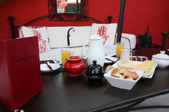 Riad Nejma Lounge: dejeuner
