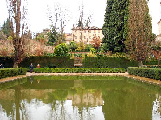 Hostal Austria: The Alhambra grounds