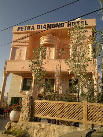 Petra Diamond Hotel : view