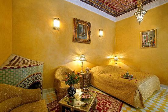 Riad & Spa Esprit du Maroc: la chambre