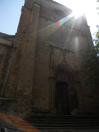 Pamplona Catedral: The old, original structure